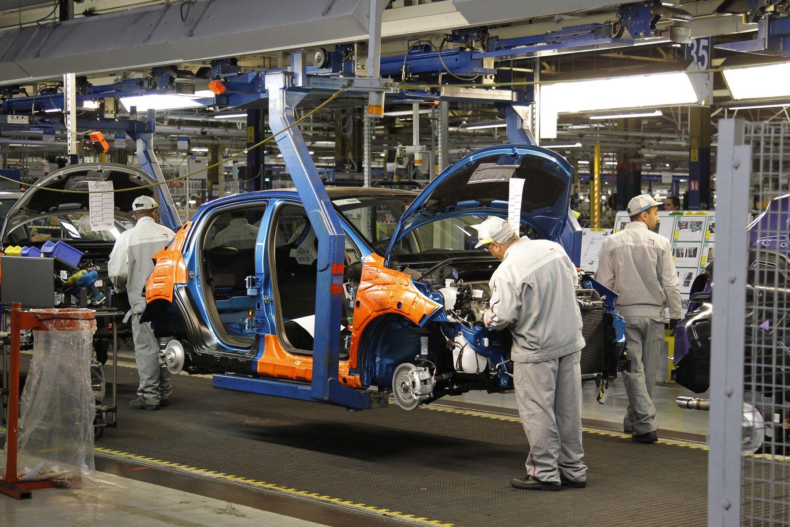 PSA Peugeot Citroën / Produktion