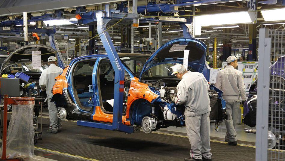Sparprogramm: Ein Peugeot-Werk bei Paris wird mit Zustimmung der Gewerkschaften bis Ende 2014 geschlossen