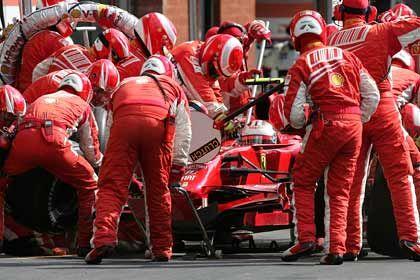 Winning Team: Der Rennstall Ferrari gehört genau wie der Fussballclub Juventus Turin zum Agnelli-Imperium