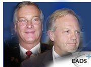 Die Konzernherren Philippe Camus (l.) und Rainer Hertrich haben die Ziele für das Gesamtjahr 2001 erreicht
