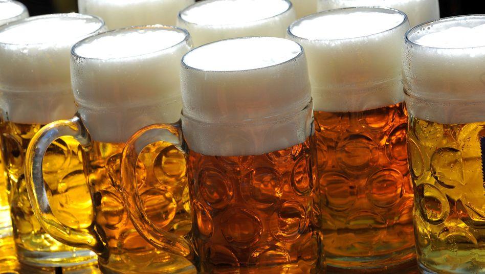 Bierausschank beim Oktoberfest: Werte sollen Höchstgrenze nie überschritten haben