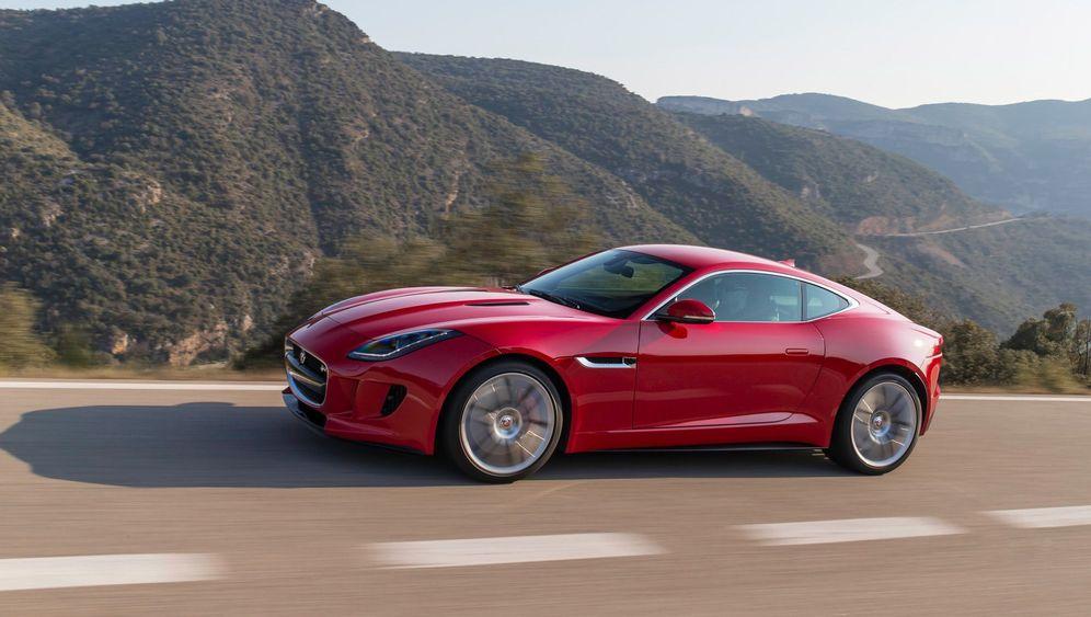 Testfahrt im Jaguar F-Type Coupé: Stark, breit, schwer, laut
