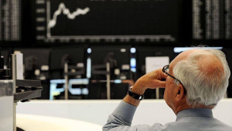 Zuversicht: Zum Wochenende verzeichnen die Kurse an der Börse Gewinne