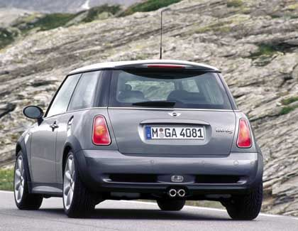 Kleines Auto, große Heckklappe: BMWs Mini