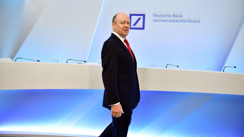 Läuft doch: Deutsche-Bank-Chef John Cryan.