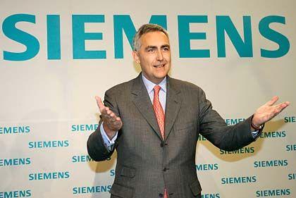 """""""Bewährte Partnerschaft"""": Siemens-Chef Löscher"""