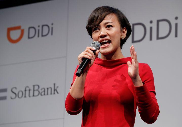 Didi-Präsidentin Jean Liu: Pekings Download-Verbot für die Didi-App hat die Aktien um 25 Prozent einbrechen lassen