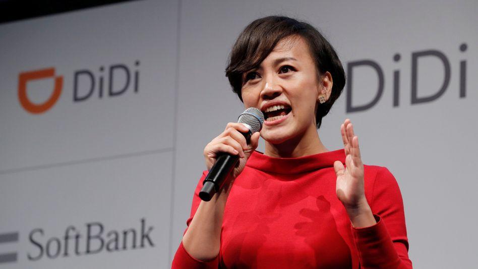 Didi Chuxing: Das harte Vorgehen Pekings gegen den chinesischen Fahrdienstvermittler kurz nach dem Börsengang (im Bild ist Didi-Präsidentin Jean Liu zu sehen) ist nur das jüngste Beispiel von mehreren Versuchen, wie China die Kontrolle über aufstrebende Tech-Unternehmen im eigenen Land übernehmen will