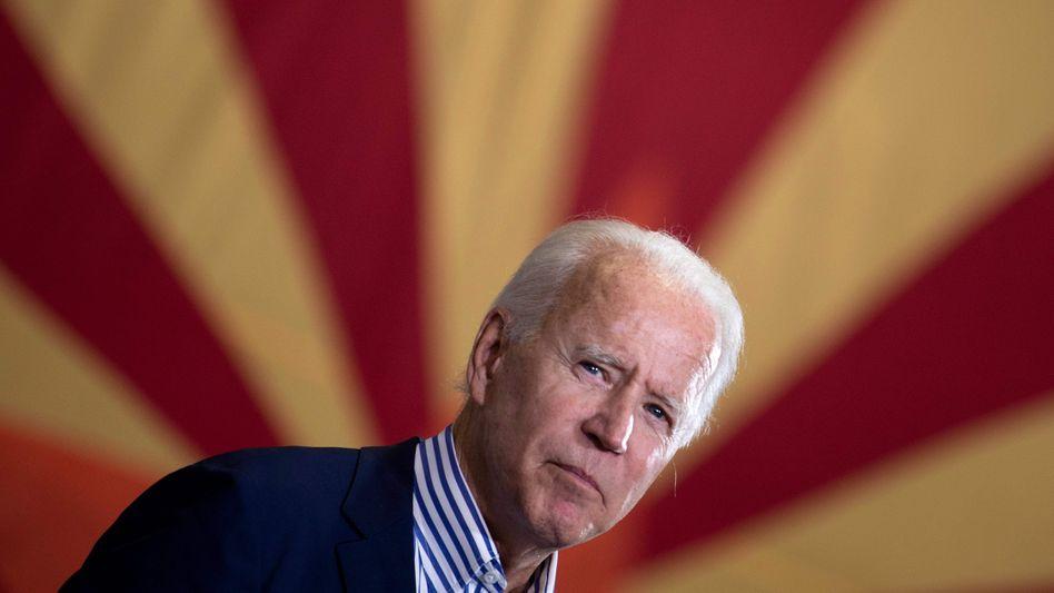 Alles auf links drehen: President elect Joe Biden