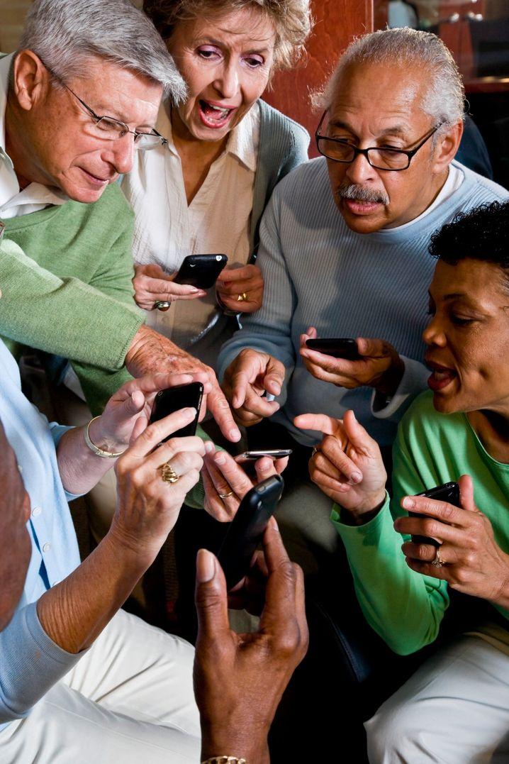 Mein Smartphone: Intelligente Telefone haben inzwischen den Rang eines Statussymbols