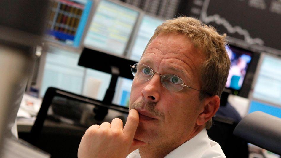 Handelssaal in Frankfurt: Die Finanzlage Italiens beschäftigt Anleger und Händler