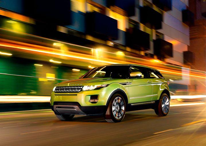 Blitzstart: Der Range Rover Evoque hat sich in nur zwei Jahren zum bestverkauften Modell der Briten gemausert