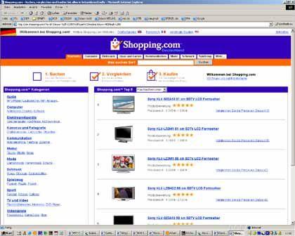 Shopping.com: Kaufberatung von Ebay