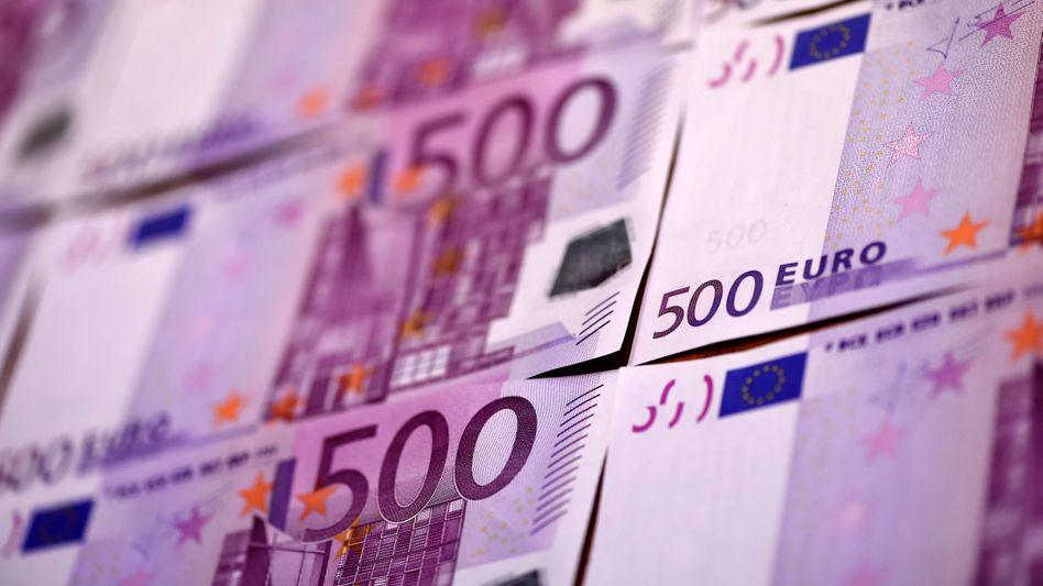 500-Euro-Scheine: Wegen ihrer Beliebtheit für die Geldwäsche und zur Terrorfinanzierung will die EZB sie künftig nicht mehr herausgeben
