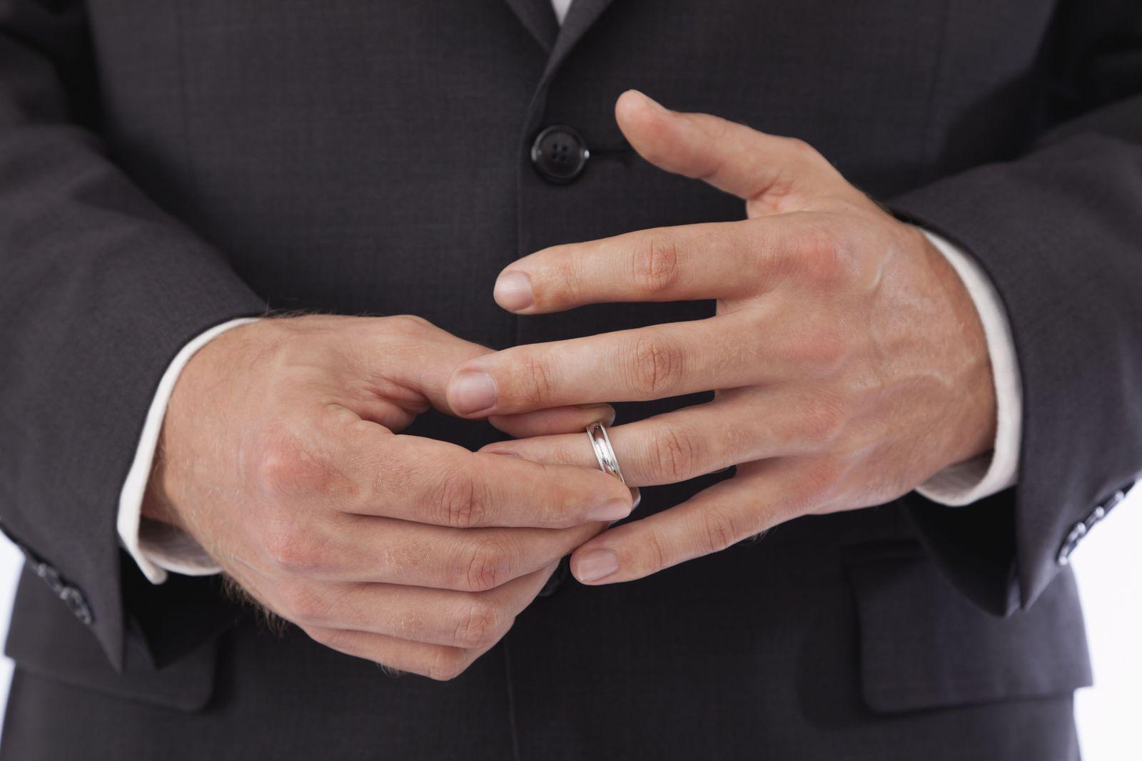 NICHT MEHR VERWENDEN! - Scheidung / Ehepaar / Ehering / Ring