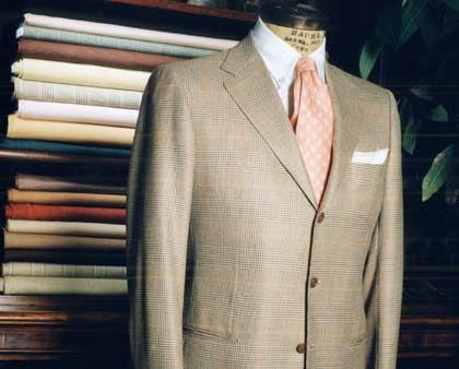 Edle Stoffe: Anzug von Kiton