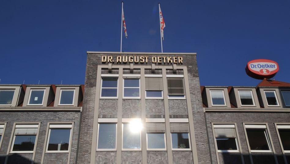 Die Firmenzentrale von Dr. Oetker: Alfred Oetker rückt auf