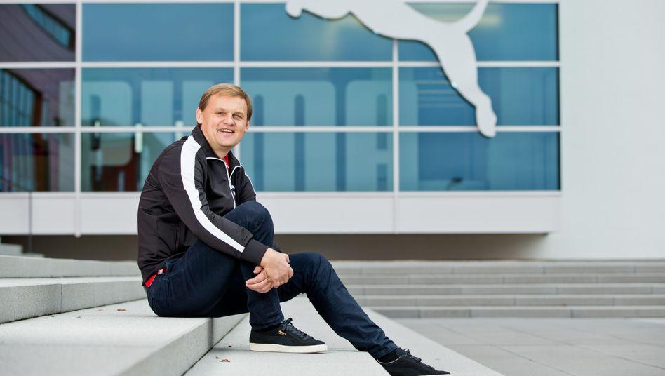 Puma-Chef Björn Gulden: Im EM- und Olympiajahr 2020 will Puma mehr als 500 Millionen Euro Gewinn erzielen