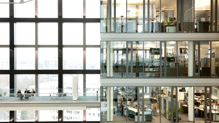 Großraumbüros der Dax30: So arbeitet man bei Siemens, Adidas und Co.