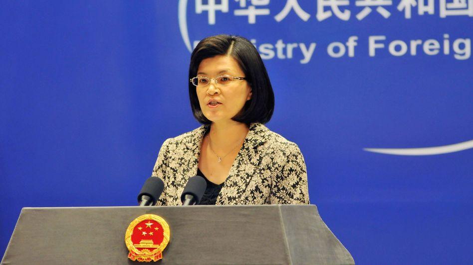 """Sprecherin Jiang Yu: """"Gerechtigkeit, Transparenz und Leistung"""""""