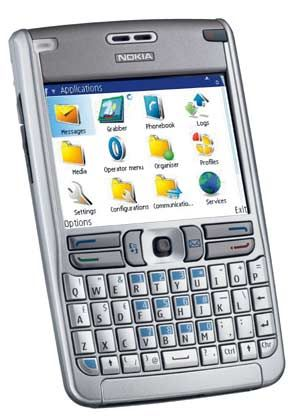 Nokia E61: Display mit 16,7 Millionen Farben