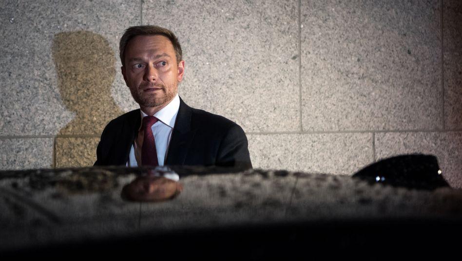 """FDP-Chef Christian Lindner: """"Es ist besser, nicht zu regieren als falsch zu regieren"""""""