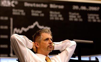 Entspannung: Nach der deutlichen Zinssenkung in den Amerika erholt sich auch Deutschlands Börse