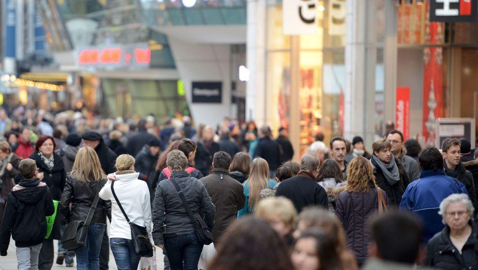 Da geht noch was: Das Konsumklima ist zum siebten Mal in Folge gestiegen - wenn auch nur noch minimal