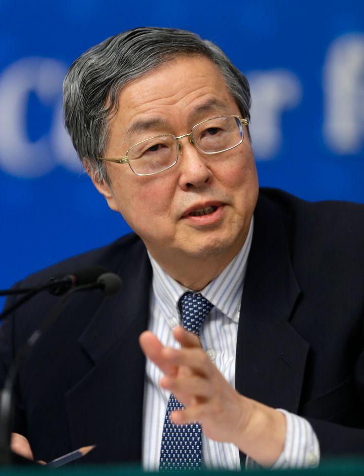 Gouverneur der Chinesischen Volksbank: Zhou Xiaochuan
