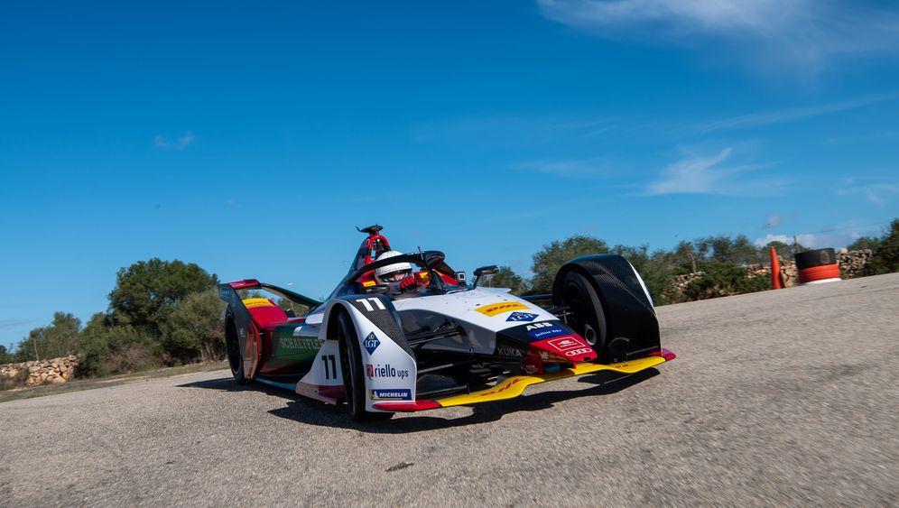 Formel E: Testfahrt in Audis Elektro-Rennwagen