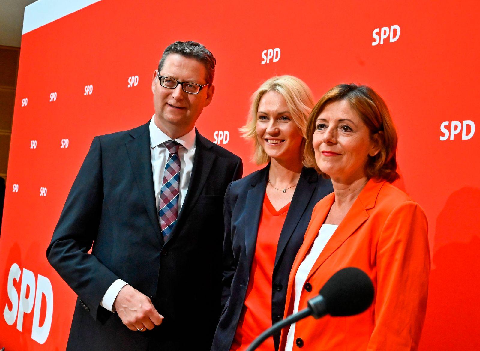 Thorsten Schäfer-Gümbel / Manuela Schwesig / Malu Dreyer