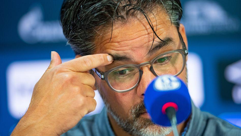 Alles nicht gut: Schalke-Trainer David Wagner.