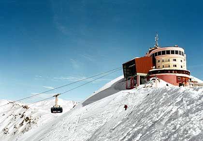 Höhenluft: Die Bergstation am Jakobshorn gilt als die höchst gelegene Stadt Europas