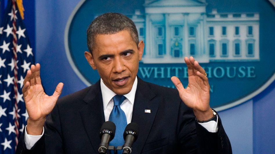US-Präsident Barack Obama: Resigniert vom Parteiengezänk