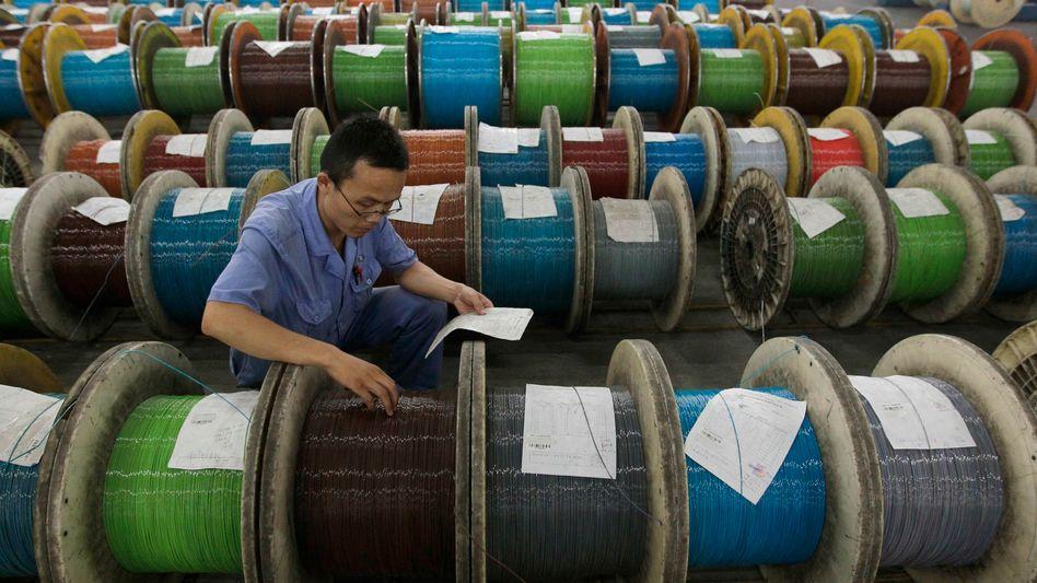 Kabelproduktion in China: Die Hoffnung auf Konjunkturhilfen steigt