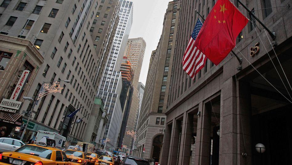 Goldman Sachs in New York: China lockt globale Finanziers