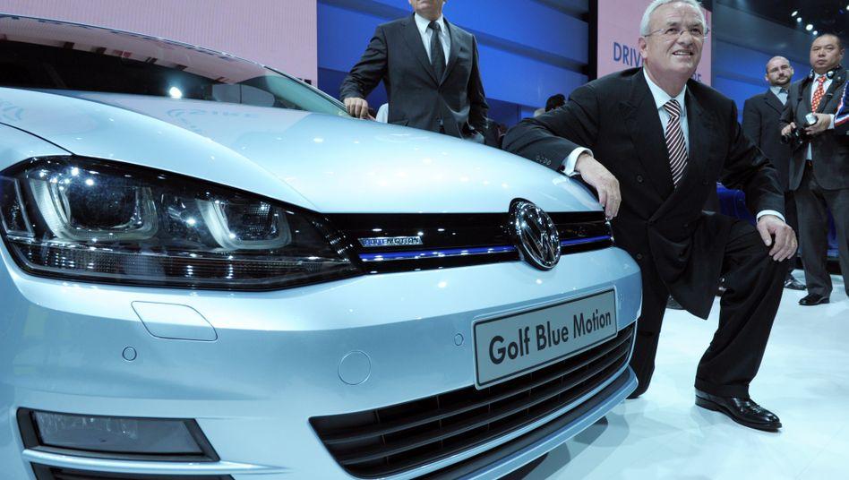 Brot-und-Butter-Auto: Der Golf ist das Lieblingsauto der Deutschen. Mit der Kernmarke VW verdient der Konzern aber vergleichsweise wenig Geld.