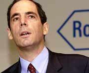 Anton Affentranger verliert seinen Job als Roche-CFO. Dass Pharma-Konkurrent Novartis vor zwei Tagen ein großes Paket Roche-Aktien kaufte, soll dabei keine Rolle gespielt haben