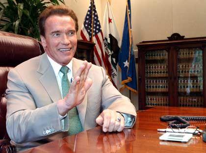 Arnold Schwarzenegger: Zu einer Gruppe von Hollywood-Prominenten und Sportsstars, denen Anteile an Google angeboten wurden, gehört laut NYT auch der Gouverneur Kaliforniens, Arnold Schwarzenegger.