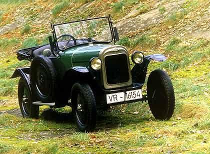 """Legendär: Opel """"Laubfrosch"""" (1924)"""