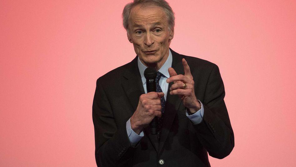 Renault-Verwaltungsratschef Dominique Senard stellte einen 2 Milliarden Euro schweren Sparplan für Renault vor
