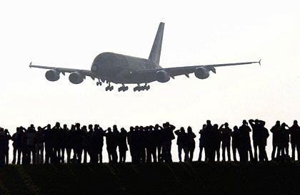 Großer Moment: Auslieferungen wie der A380 drohen weniger zu werden