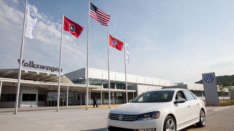Toyota-Fighter: Mit der US-Version des VW Passat, der im US-amerikanischen Chattanooga gefertigt wird, will VW seine Marktanteile in den USA ausbauen. Bislang geht der Plan auf