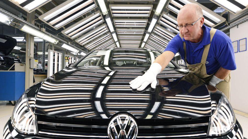 Neuer Golf VII : Rund 60 Prozent seiner Milliardeninvestitionen will VW in Deutschland tätigen