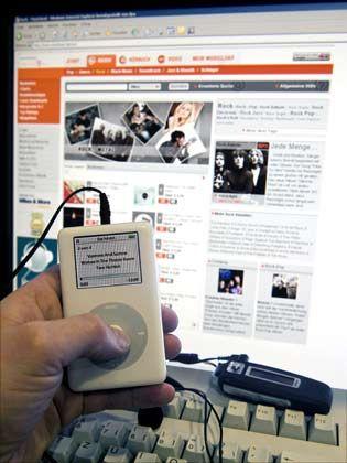 Kopierschutzfreie Songs: Der Käufer kann die Dateien unbegrenzt weitergeben oder brennen