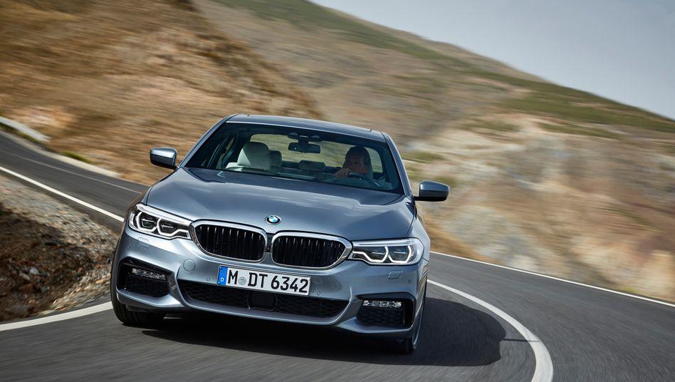 BMW 5er: Gewinn vor Steuern steigt auf knapp 10 Milliarden Euro