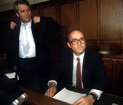 Das war vor Jahren: Horst-Dieter Esch auf der Anklagebank