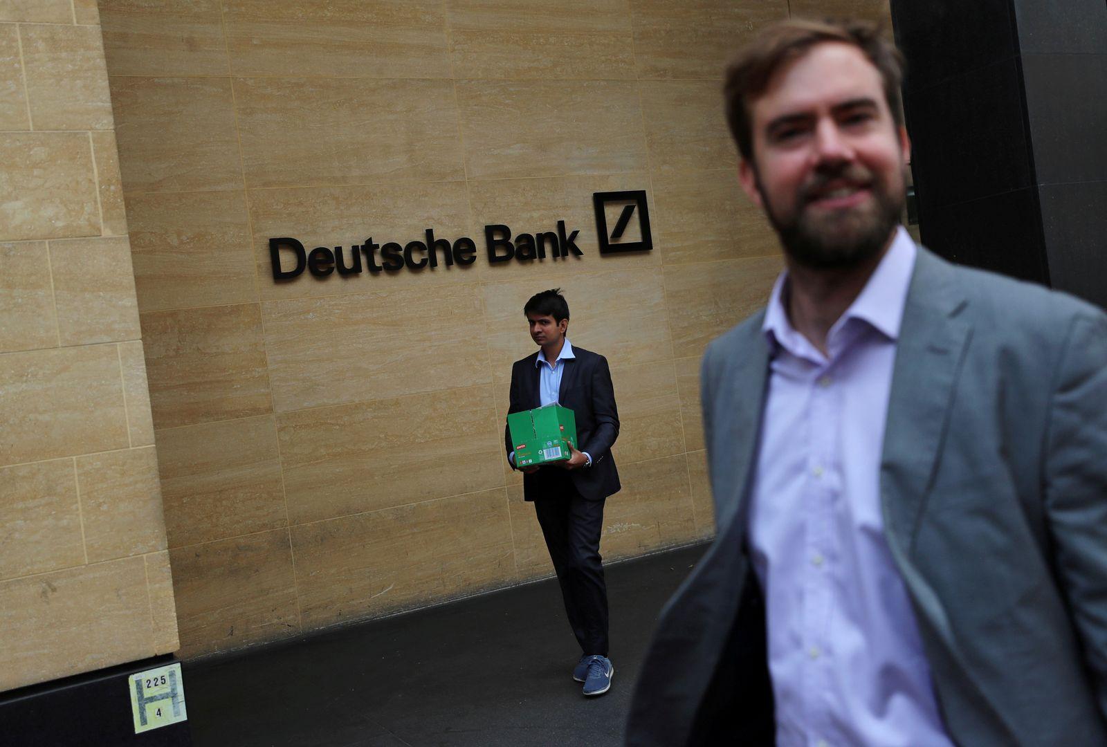 Deutsche Bank / Entlassungen