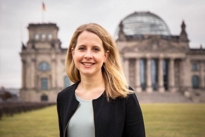 Eher Mitte: Die Unternehmerin Verena Hubertz zieht für die SPD in den Bundestag ein