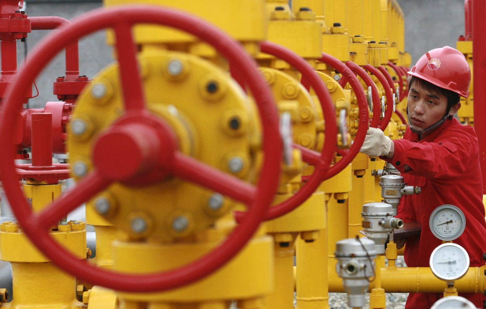 China / Öl / Öl-Preis / Ölfeld / Ölförderung